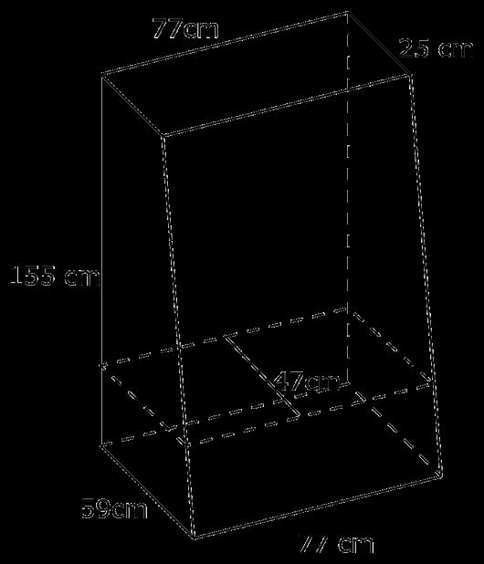 Wymiary fotolustra 55''