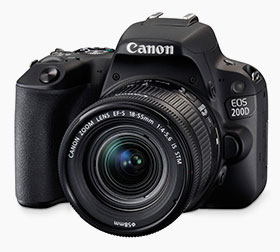 Lustrzanka Canon200D